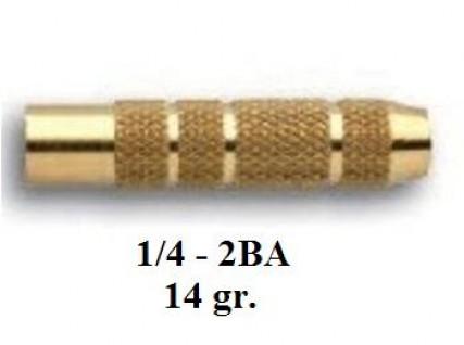 3031 Тяло за стрела 14гр. - голям връх/мaлко перо (1/4 - 2BA)
