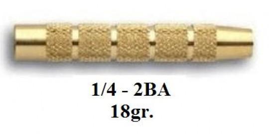 3035 Тяло за стрела 18гр. - голям връх/мaлко перо (1/4 - 2BA)